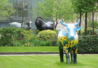 房地产雕塑-动物雕塑-牛